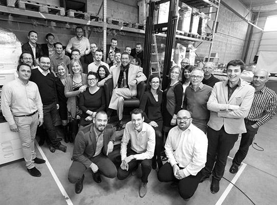 L'équipe de GdB en 2016