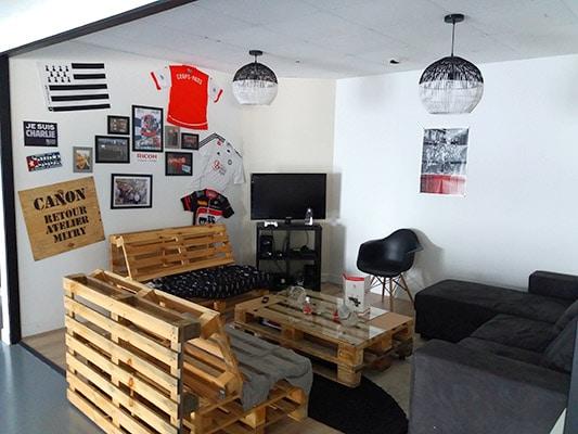 Intérieur des locaux de GdB Nantes