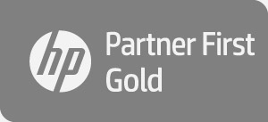 Logo HP Partner First Gold